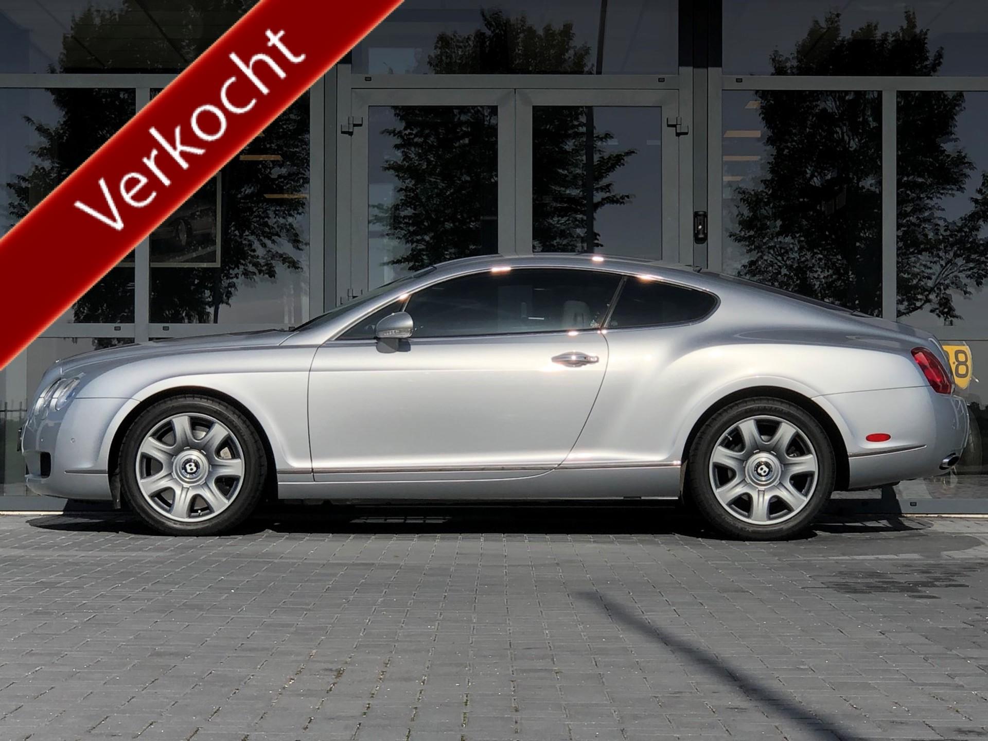 Bentley-Continental GT-6.0 W12 Dealer onderhouden, Navi, ECC, Bleutooth !!!-Auto Jonkman Berlikum